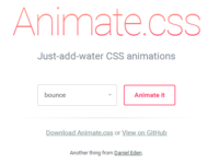cssとjsを利用して簡単アニメーションの実装